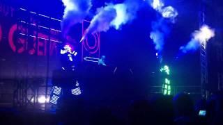 David Guetta 2011.12.17 Budapest - Robot Dance