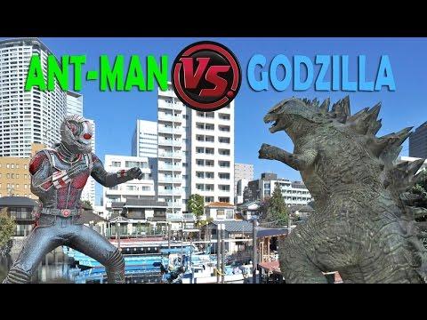 Antman Vs Godzilla - Not A Pacific Rim 2 Movie
