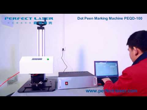 Automatic Number Printing Dot Peen Marking Machine With Pneumatic Marking Equipment