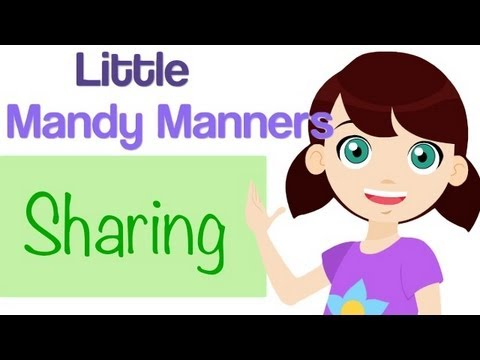 Sharing | Little Mandy Manners | TinyGrads | Children's Videos | Character Songs