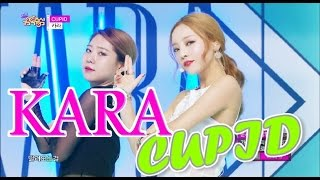 Music core 20150606 KARA - CUPID, 카라 - 큐피트 ▷Show Music Core Of...
