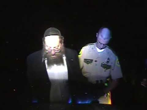Vermont State Police video of Rabbi Berl Fink traffic stop
