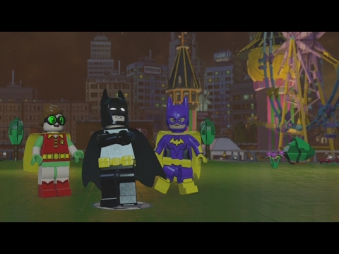 LEGO Dimensions - LEGO Batman Movie World - Open World Free Roam Gameplay