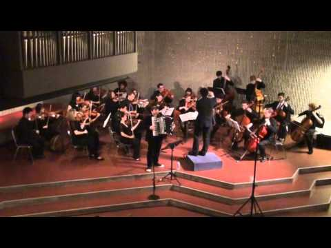 Peter Bufano: Isabella (Peter Bufano, Accordion, Motoki Tanaka, Boston String Players)
