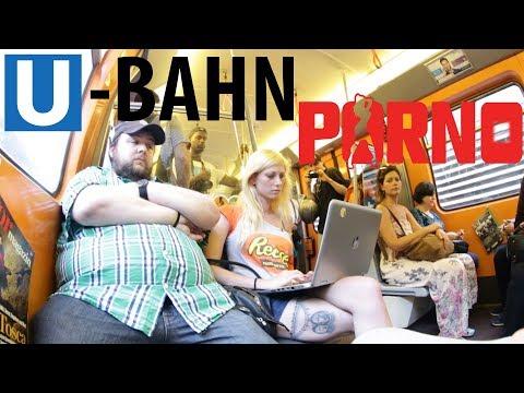 Porno In Der U-Bahn Schauen 😲