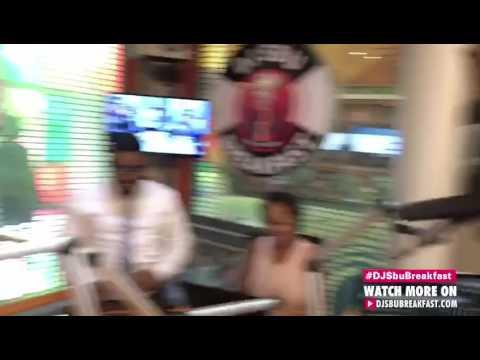 "Khaya Mthethwa ""I'M SINGLE"" Announces On The DJ Sbu Breakfast"