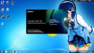 Видео-урок как установить Sony Vegas Pro 11 (RUS+КРЯК)