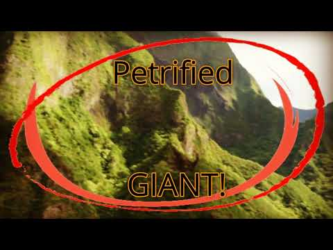 Petrified GIANT found in the valley of Iao!