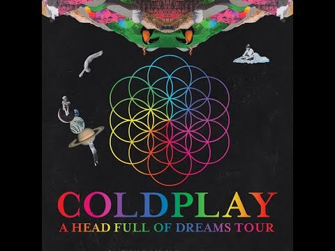 Yellow - Coldplay A Headful Of Dreams Tour live in Bangkok 2017