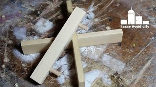 How To Make A Half Lap Joint And A Center Finder