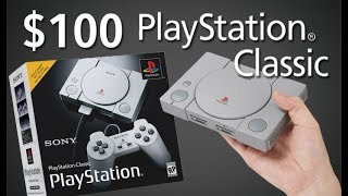 PlayStation Classic Revealed! $100 PS1 Mini with 20 LEGENDARY Games!
