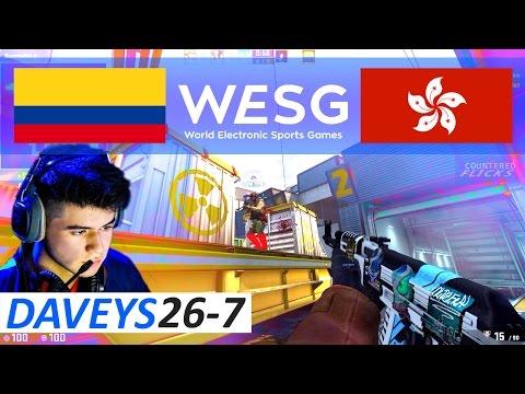 CSGO Daveys POV 26-7 vs ENZO (WESG 2016 World Finals)