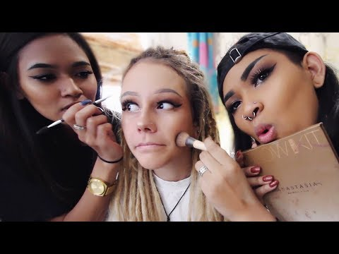 My Twin Sisters Do My Makeup