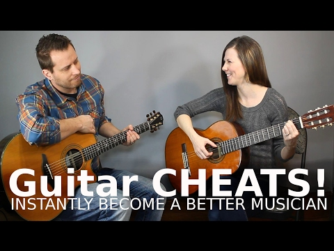 Guitar CHEATS! - Never Play a Barre Chord Again!