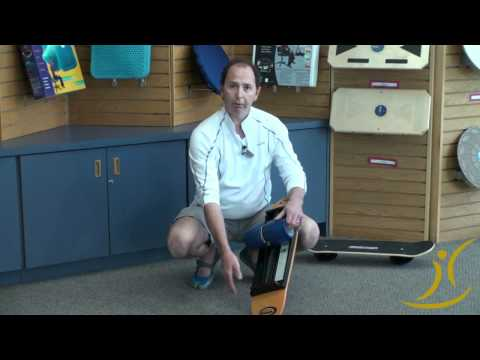 "Video: ""Bongo Board"" Balance Board"