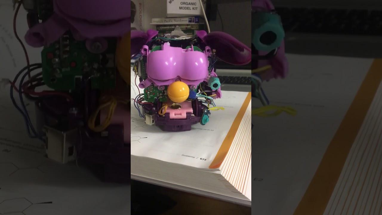 2012 Furby Circuit Bending Part 2 Youtube Bent