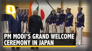 Welcome Ceremony For PM Modi In Japan | The Quint