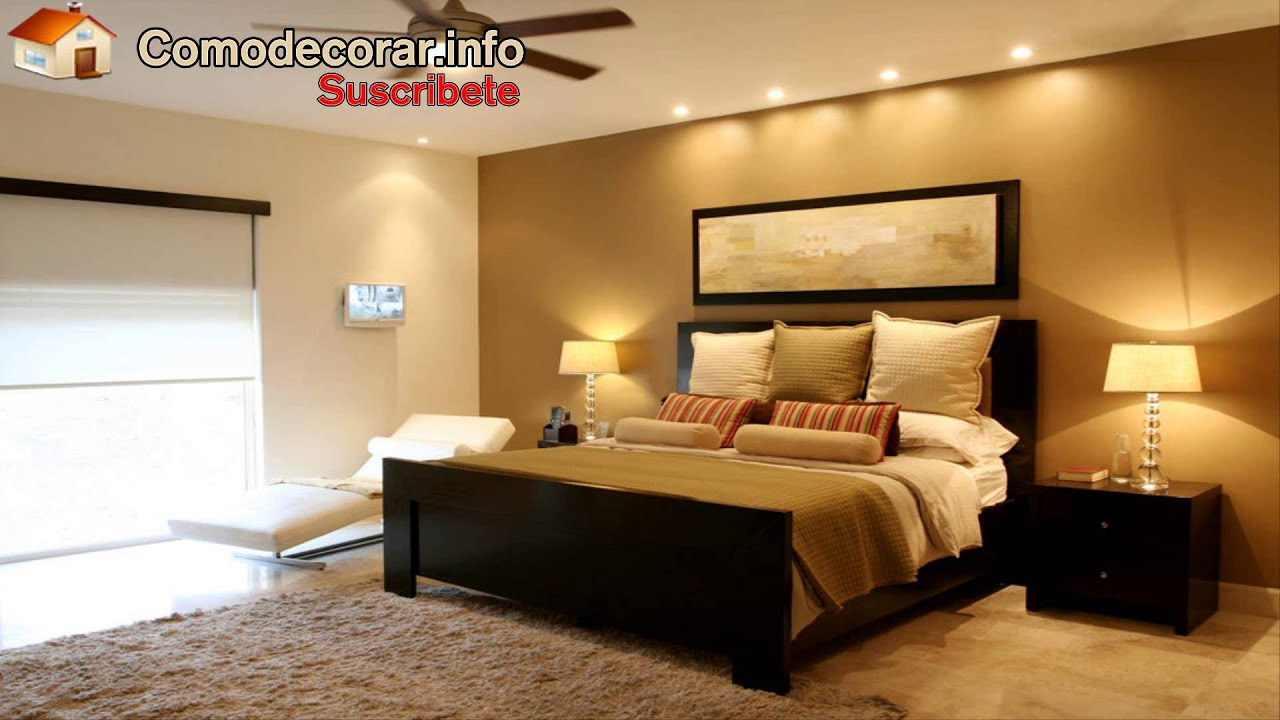 Decoraciones de recamaras youtube for Ideas para decorar habitaciones con fotos