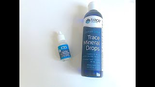 IHERB: Trace Minerals Research, Минеральные капли и  Ополаскиватель для рта - Видео обзор
