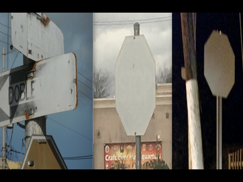 *Bizarre* phenomenon sweeping the globe! | Invisible 'ENERGY' annihilating street signs!