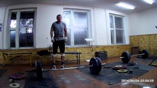 Тяжелая атлетика - толчок 110 кг х 2+2+1