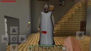 FINDING GRANNY HORROR HOUSE in Minecraft Pocket Edition