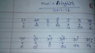 क ख ग in hinglish | k kh g gh | अ आ इ ई in hinglish