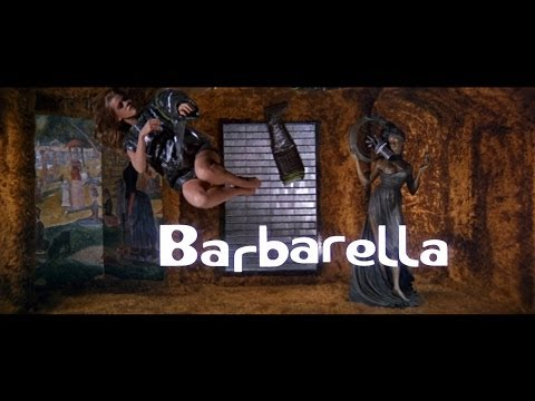 Barbarella Opening Sequence with Protective Fonts