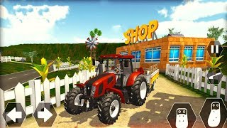 Tractor Driving Farm Sim: Cargo Tractor Trolley - Android Gameplay FHD