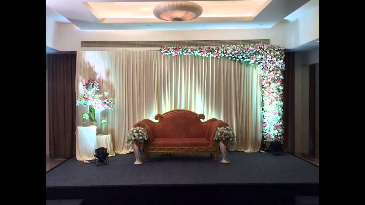 Madurai decorators engagement stage decoration youtube Photo de decoration