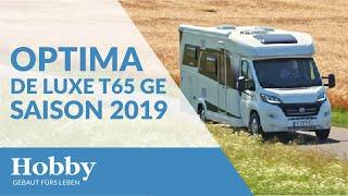 Hobby OPTIMA DE LUXE T65 GE Saison 2019
