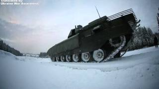 NEW second unique footage of T-14 Armata Tank Firing UralVagonZavod 2016