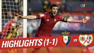 Video Gol Pertandingan Osasuna vs Rayo Vallecano