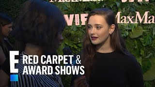 """Katherine Langford Sounds Off on """"13 Reasons Why"""" Exit 