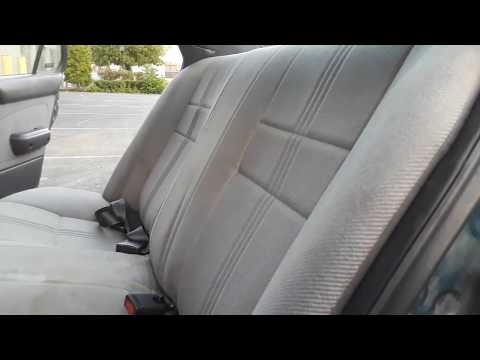 94 Geo Prizm Rear Seat Removal And Installation