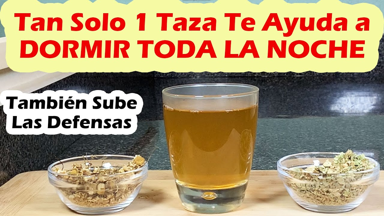 Bebe 1 Taza Antes De Acostarte y DUERME PROFUNDAMENTE - También Sube Las Defensas y Mucho Más