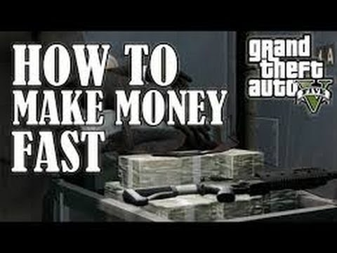 GTA 5 Online - How to make Money fast and Rank up fast! (3 Quick ways) ($100,000 per/hr) - YouTube