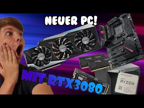PC Bau!  Mit RTX 3080!