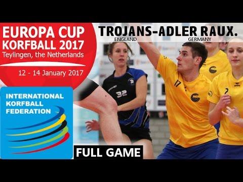 IKF Ecup 2017 Trojans Korfball Club - KV Adler Rauxel e.V