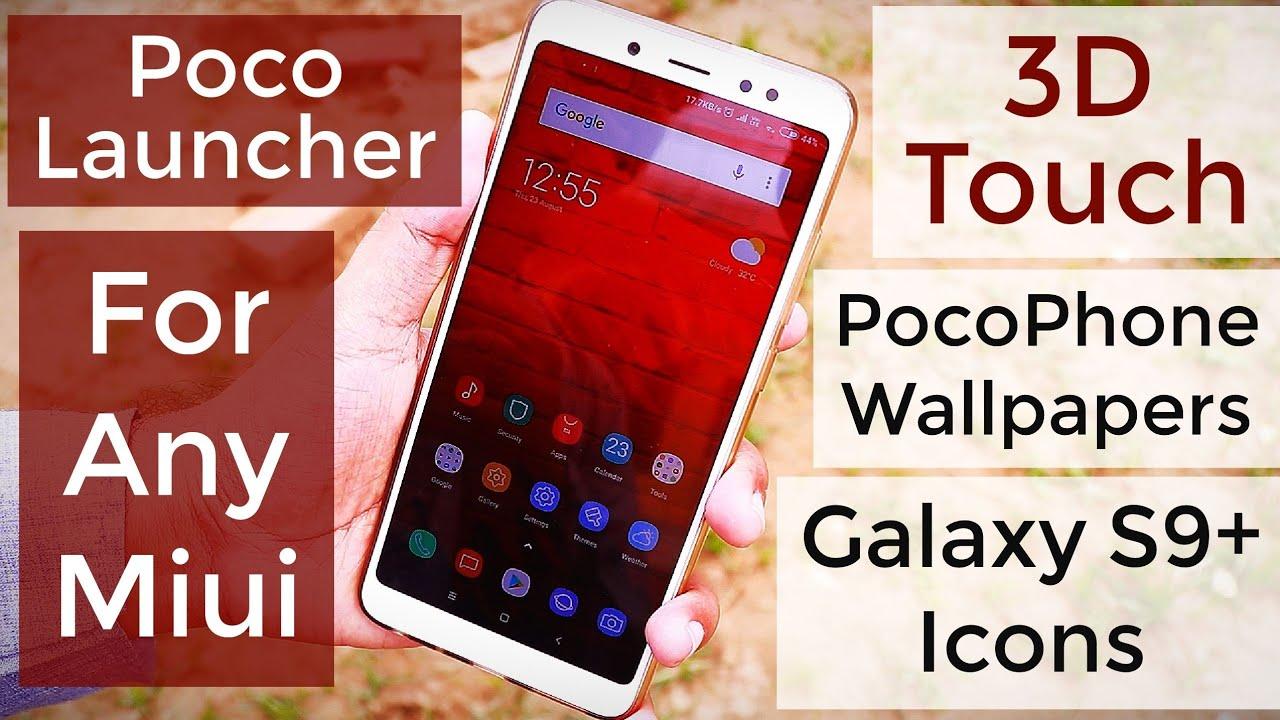Miui 10 Poco Launcher APK & Wallpapers Download Now | Hindi - हिंदी