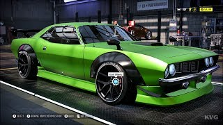 Need for Speed Heat - Plymouth Barracuda 1970 - Customize | Tuning Car (PC HD) [1080p60FPS]