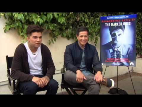"Entrevista con Andrew Jacobs and Jorge Diaz de ""PARANORMAL ..."