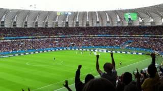 Benzema's goal - France 3-0 Honduras - 2014 FIFA World Cup Brazil