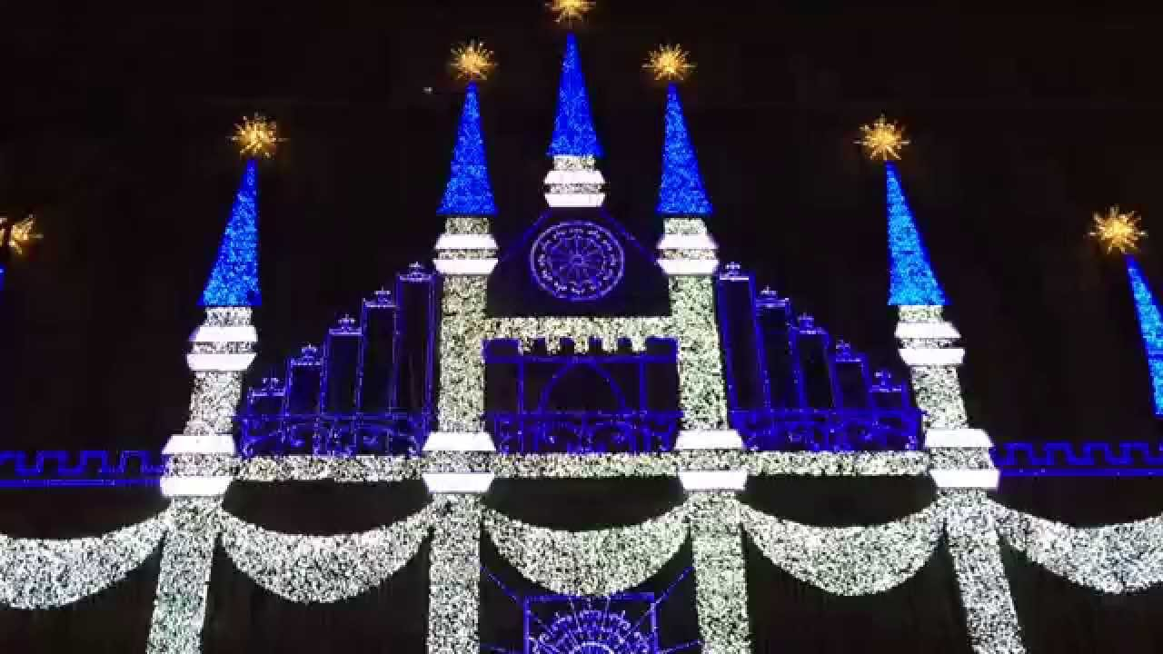3D Light Show 2015 saks fifth avenue holiday 3d light show - youtube
