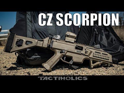 The Ideal Backpack Gun: CZ Scorpion - Tactiholics™