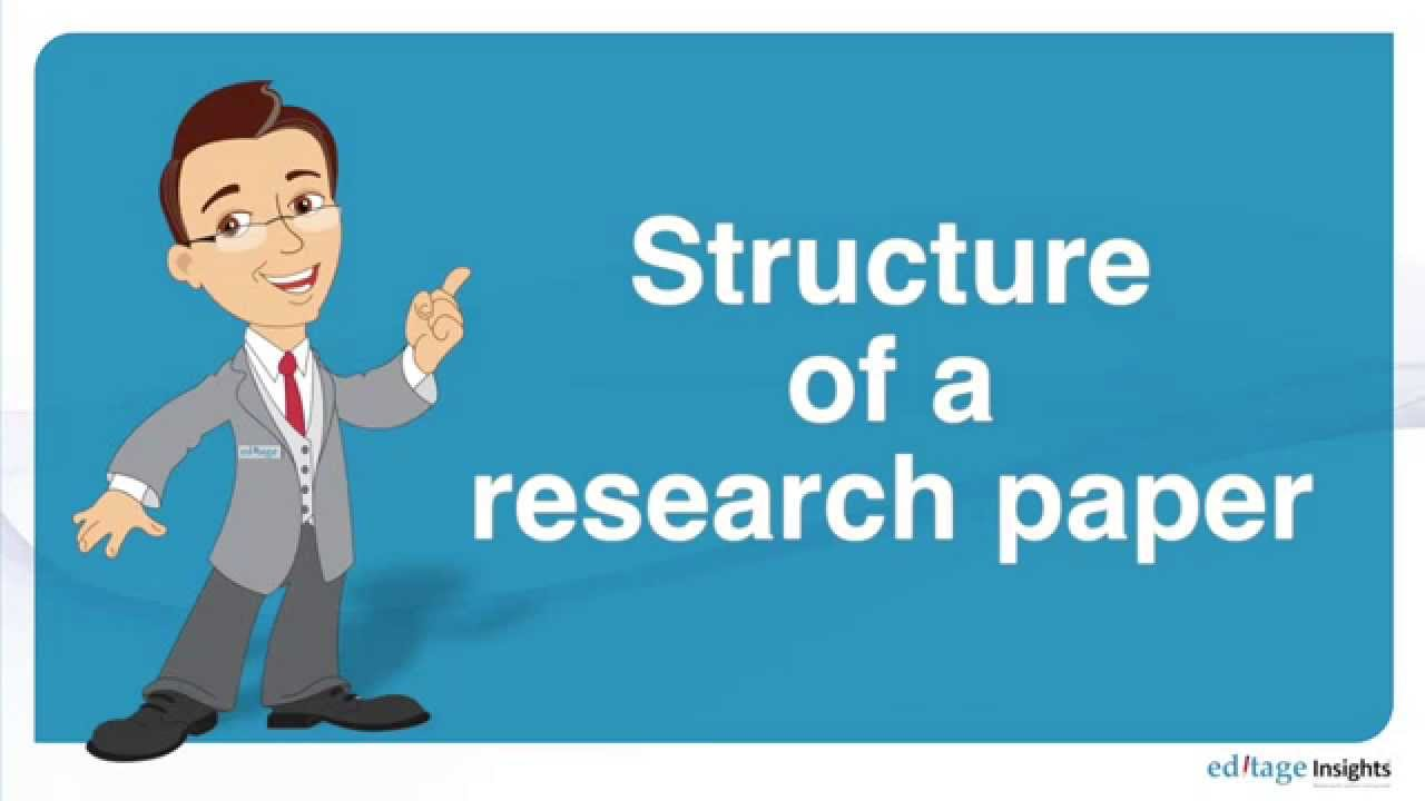 structure of a research paper structure of a research paper