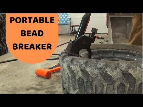 Using a Portable Bead Breaker!