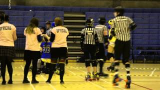 ARRG Home Teams 2012: Leithal Weapons v The Skatefast Club : Jams 24,25 Period 1