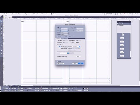 22 - DTP with QuarkXPress: Master Pages