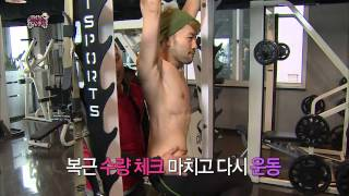 【TVPP】Noh Hong Chul - Amazing six-pack, 노홍철 - 찌롱이 맞아? 어마어마한 식스팩 @ Infinite Challenge